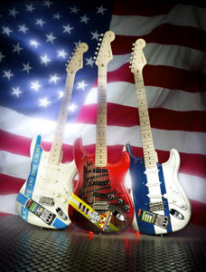Fender Custom Shop donates commemorative 9/11 Stratocasters