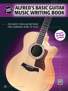 Alfred Music releases Basic Guitar Music Writing book