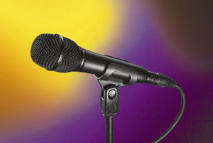 Audio-Technica AT2010 Handheld Condenser Microphone Brings Studio-Quality Sound to Live Performance Applications