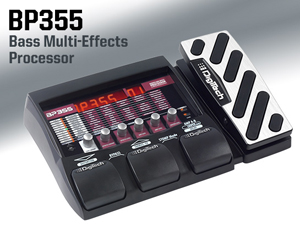 DigiTech unveils BP355 bass muli-effects processor
