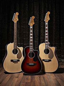 Fender California Series Acoustics Upgraded!