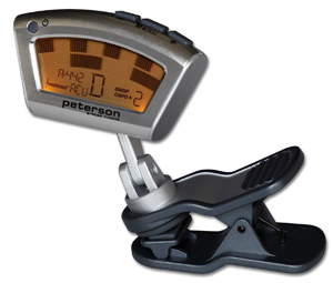 Peterson releases clip-on strobe tuner for acoustic instruments