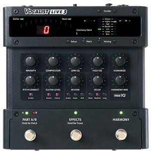 Digitech Announces Vocalist Live 3 Harmonizer