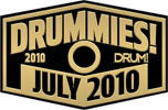 Alfred Music Publishing Congratulates 2010 DRUMMIES! Award Winners