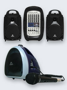 Compact EUROPORT Portable PA Systems