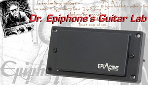 Dr. Epiphone's Guitar Lab: The New EpiActive Pickups!