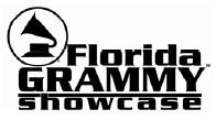 Don't Miss Out!  FL Grammy Showcase Entry Deadline September 29, 5:00 P.M.