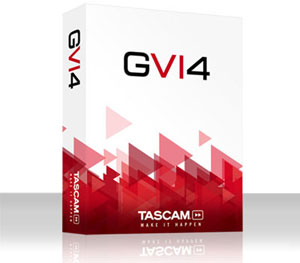 TASCAM Announces GVI 4 for MAC