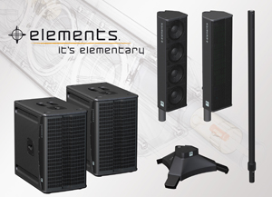 HK Audio releases Elements modular sound system for 1st time in US
