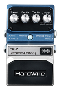 HardWire adds  TR-7 Tremolo/Rotary Extreme Performance pedal