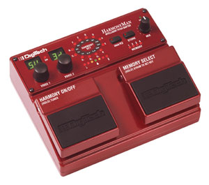 DigiTech Introduces HarmonyMan Intelligent Pitch Shifter Guitar Pedal