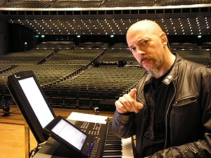 "Jordan Rudess Composed his ""Explorations"" on Casio PX-330"
