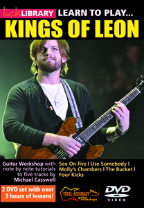 Lick Library release Kings of Leon instructional DVD