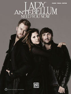 Alfred Publishing releases Lady Antebellum songbook