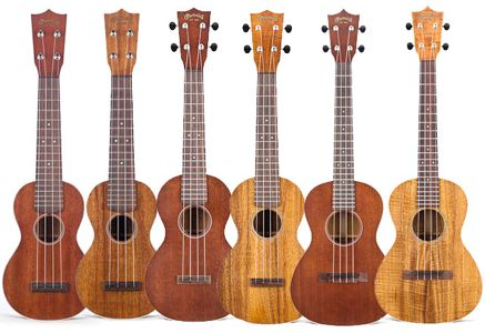 Uke can do it: Martin introduces new ukuleles for 2011