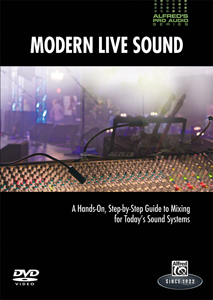 Alfred Publishing expands pro audio series with live recording DVD