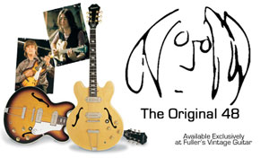 Limited Quantity Of Highly Sought After Lennon Guitars Available