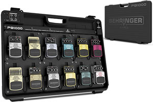 Introducing the Practical PEDAL BOARD PB1000 from BEHRINGER