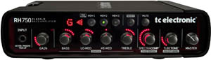 TC Electronic ups the ante with RH750 bass head