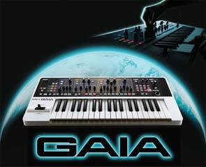 Roland Releases GAIA Battery-powered Synthesizer