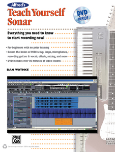 Alfred Publishing releases self-teaching guide to Sonar