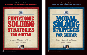 Alfred, Guitar workshop release two new improv books for guitar