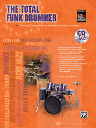 Alfred Publishing releases Total Funk Drummer
