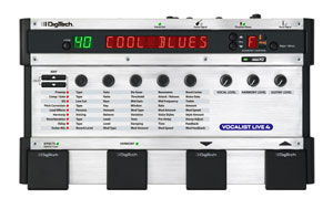 DigiTech® Exhibits New Vocalist® Live 4 Vocal Harmony and Effects Processor