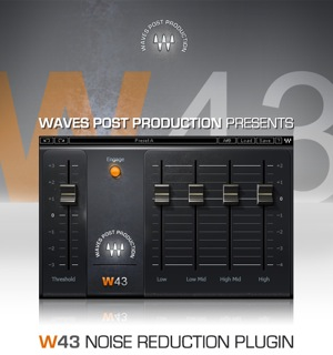 Introduces W43 Noise Reduction Plugin