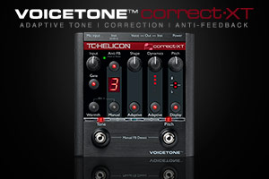 TC-Helicon introduces VoiceTone Correct XT