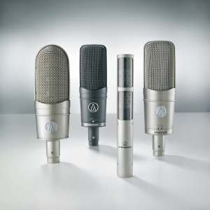 NEW AUDIO-TECHNICA 40 SERIES MICROPHONES CERTIFIED BY METALLIANCE