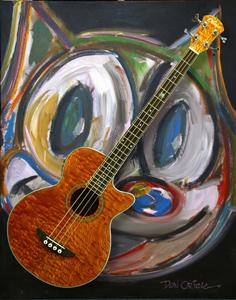 Oriolo Guitars' Nez bass: old cat, new tricks