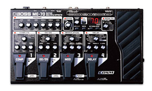 BOSS ME-70 GUITAR MULTIPLE EFFECTS NOW SHIPPING
