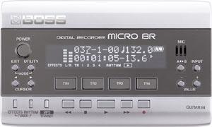 BOSS Ships Micro BR Digital Recorder