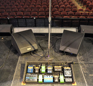 Monitor Engineer Karrie Keyes Again Chooses EAW MicroWedges for Pearl Jam's 2009 Concert Tour