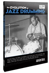 Hudson Music announces The Evolution of Jazz Drumming workbook