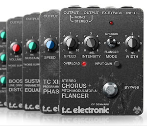 TC Electronics offers Vintage Guitar Pedal Bundle for PowerCore