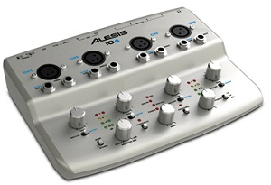 The Alesis iO4: 24 bits in an Inexpensive Box