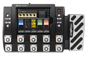 Digitech announces iPB-10, iPad-programmable pedalboard