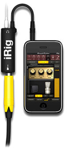 Ik Multimedia releases guitar interface & App for iPod