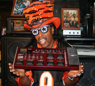 Bootsy Collins Steps Into A New Sonic Dimension With Korg AX3000B