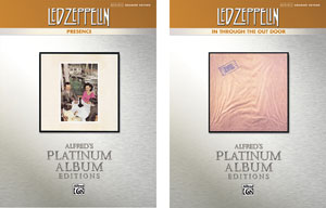 Two New Led Zeppelin Transcription Books For Drums