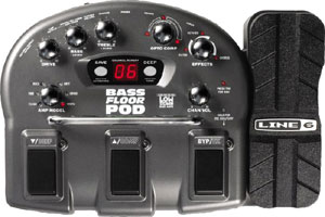 Line 6 Announces the Affordable Solution for Professional Bass Tone, Bass Floor POD
