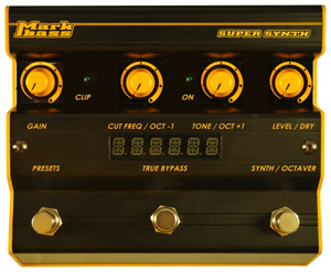 Markbass SuperSynth may end bass players' keyboard envy