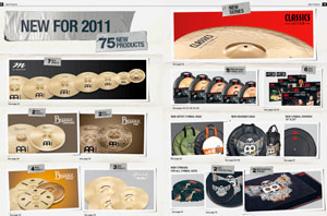 MEINL Releases 75 New Products for 2011