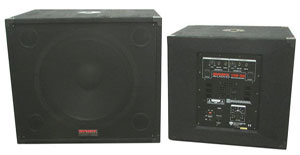 Nady Introduces New Powered Subwoofers