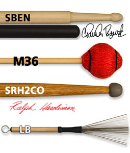 Vic Firth starts the year with new products and partner