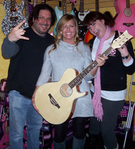 Daisy Rock Girl Guitars Proudly Welcomes Renowned Actress, Nicole Eggert!