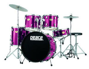 Peace Musical to Debut Peace Marauder Drum Kit at NAMM