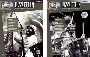 Alfred releases Ultimate Drum Play-Along: Led Zeppelin Vol. 1 & 2